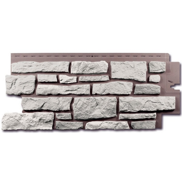 Фасадная панель Nailite Creek Ledgestone Vintage White